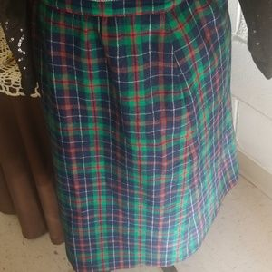 Pendleton Skirts - Pendleton wool skirt
